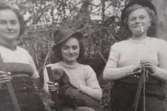 SORELLE PACCHIARDO ANNI 1930-40